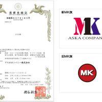 MK旗と商標登録証