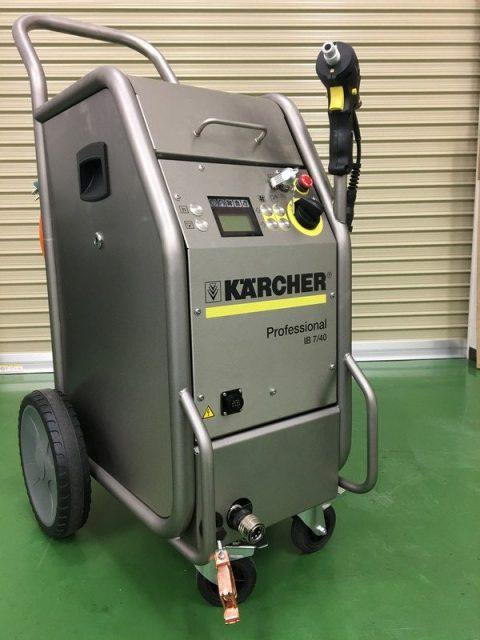 金型クリーニング用ドライアイス洗浄機械