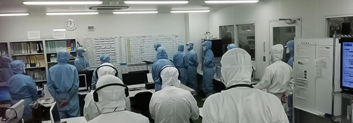 IoT活用工場の見学