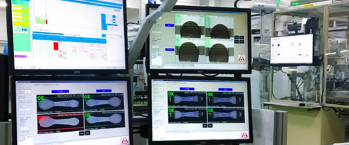アスカカンパニーの製品検査とIoT活用による見える化